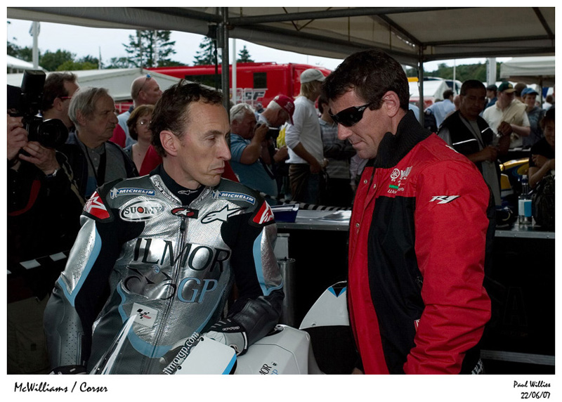 Jeremy McWilliams & Troy Corser
